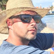 Robbie looking someone in Croatia #7
