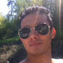Reza looking someone in Sweden #7
